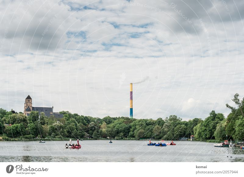 AST10 | Chemnitz Zufriedenheit Schwimmen & Baden Freizeit & Hobby Spielen Tourismus Ausflug Abenteuer Freiheit Städtereise Umwelt Wasser Himmel Wolken Sommer