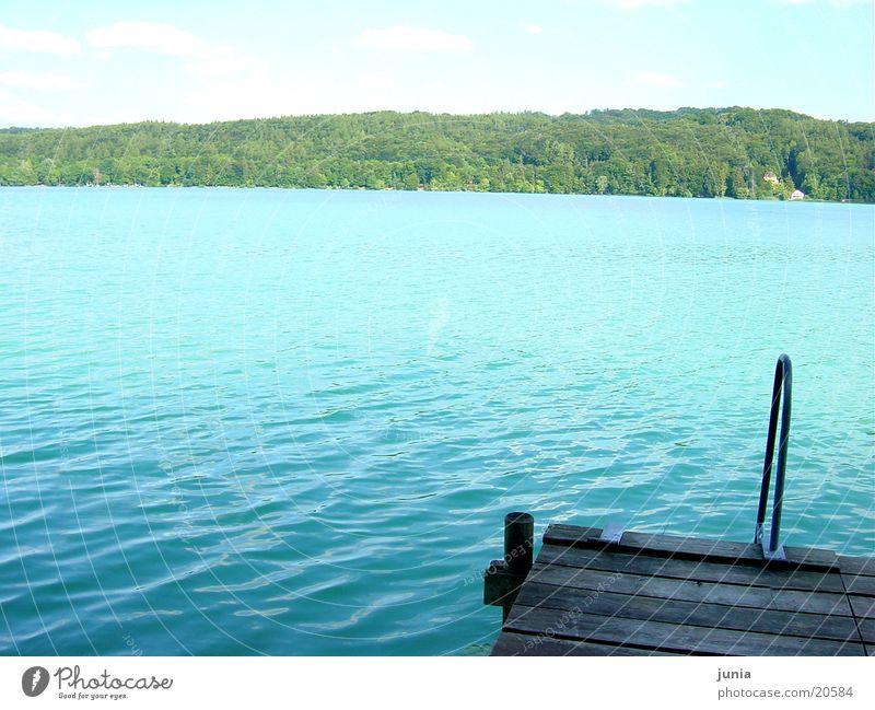 seeblick See Wasser