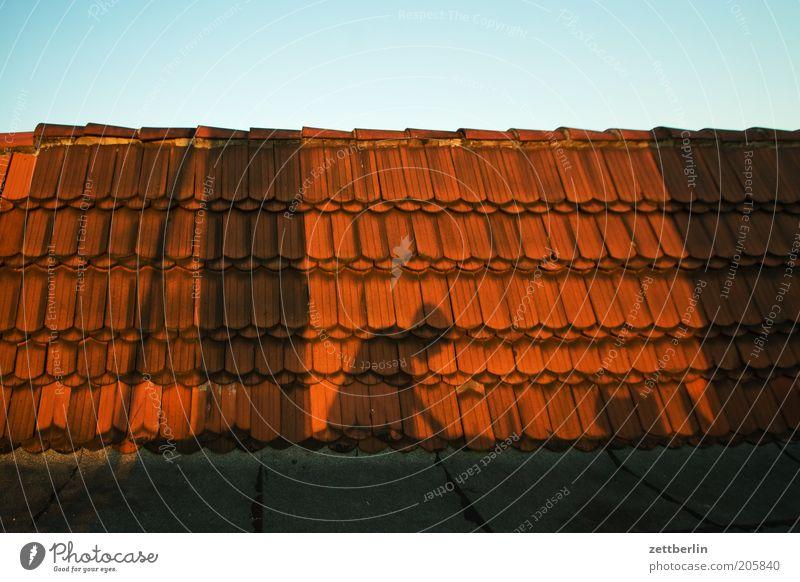 Penner. Abenddämmerung Dachziegel Dachdecker Schattenseite Schwarzarbeit Arbeitszeit Schattendasein