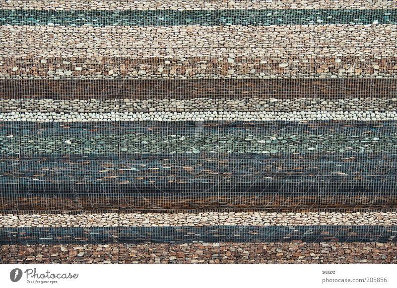 Steinzeit Wand grau Mauer Linie Hintergrundbild braun Fassade Ordnung Design Dekoration & Verzierung Streifen Niveau Schutz Material Gitter