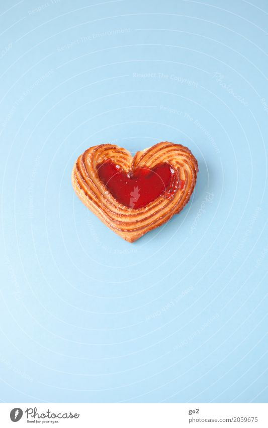 Herz blau rot Liebe Lebensmittel Freundschaft Ernährung ästhetisch Geburtstag Fröhlichkeit Lebensfreude süß Romantik Hochzeit lecker Süßwaren