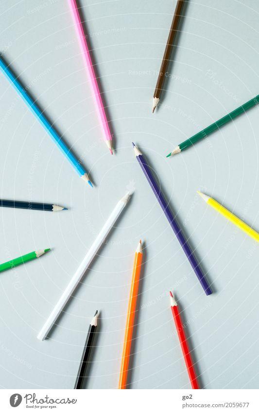 Kreativ Farbe sprechen Kunst Schule Design Freizeit & Hobby Büro ästhetisch Ordnung Kreativität einzigartig Idee Papier Team zeichnen Werbebranche