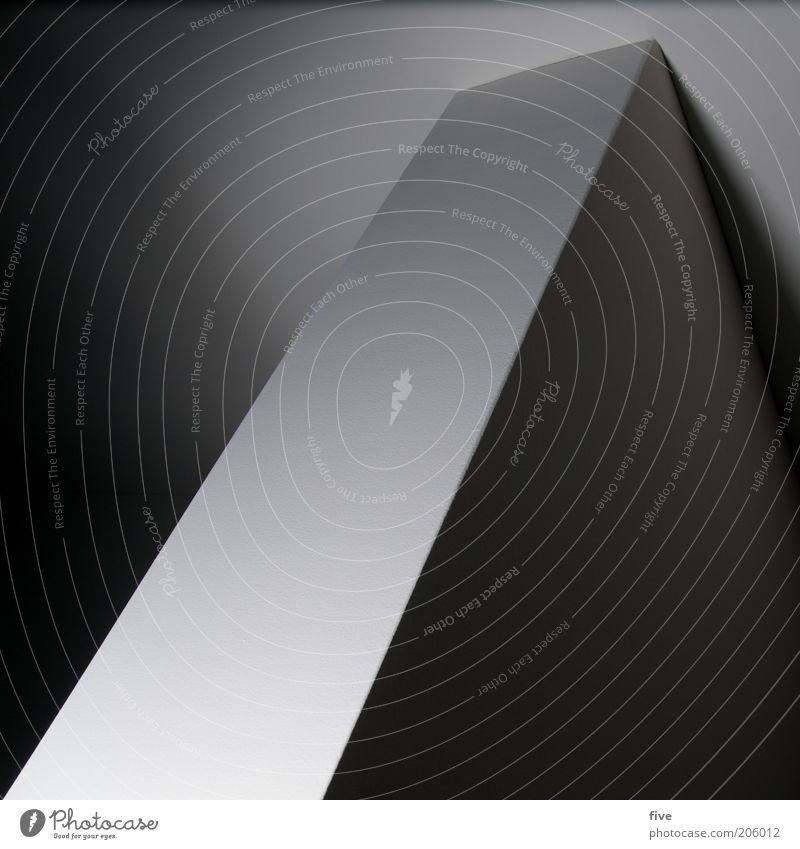 kante weiß Haus schwarz kalt Wand Mauer Gebäude Raum Architektur planen Design Perspektive modern Coolness Ecke