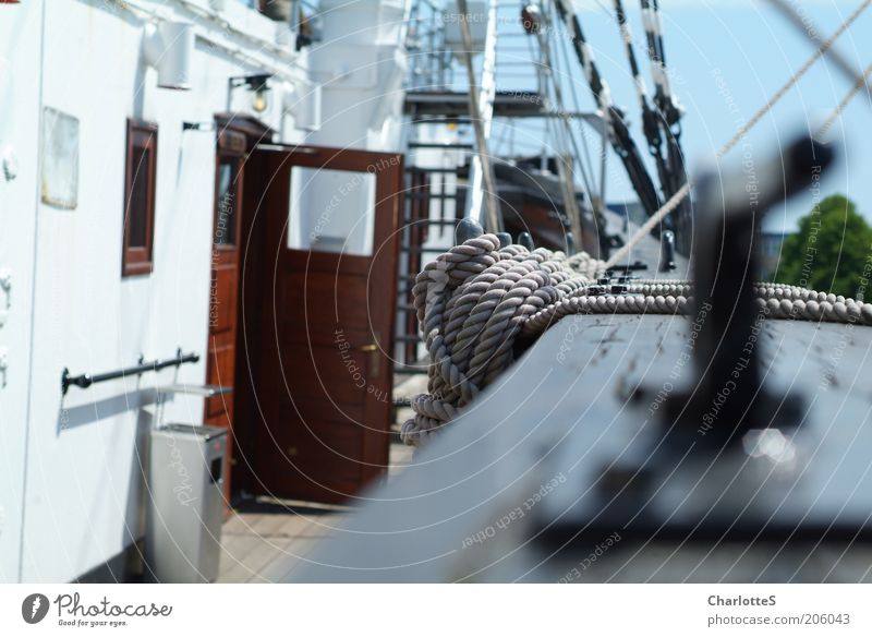 Segelschiff Sommer Ferien & Urlaub & Reisen ruhig Ferne Erholung Stil Seil Ausflug Sicherheit Tourismus Vertrauen Sehnsucht Segeln Fernweh Wasserfahrzeug