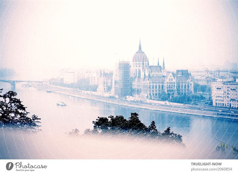 Budapest revisited Ferien & Urlaub & Reisen Stadt Ferne Tourismus Horizont träumen Ausflug Verkehr Europa Kultur Lebensfreude Brücke Sehenswürdigkeit Skyline