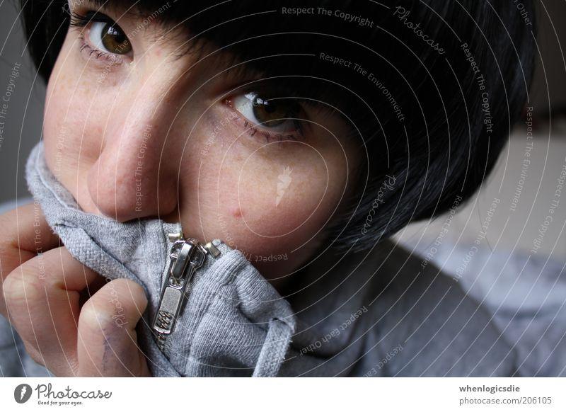 bob Frau Mensch Jugendliche schön Gesicht ruhig schwarz Auge Leben feminin Haare & Frisuren Kopf braun Haut Erwachsene Nase