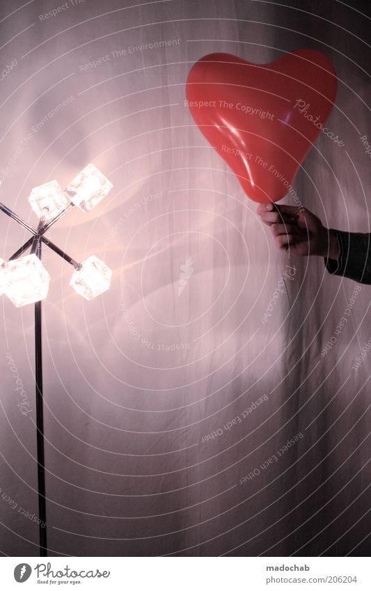 zeichen setzen schön Liebe Stil Herz ästhetisch Geschenk Warmherzigkeit Luftballon Hoffnung Kommunizieren Romantik Kreativität Verliebtheit Treue Sympathie Zuneigung
