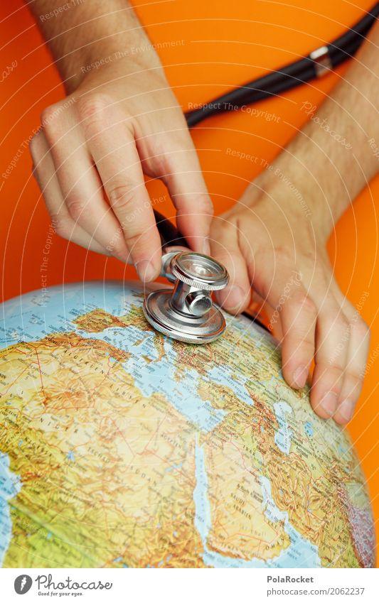 #AS# alles gut bei dir? Kunst Kunstwerk ästhetisch Erde Weltkulturerbe Weltkarte Weltreise weltweit Weltzeituhr Globus Arzt Gesundheit Gesundheitszustand