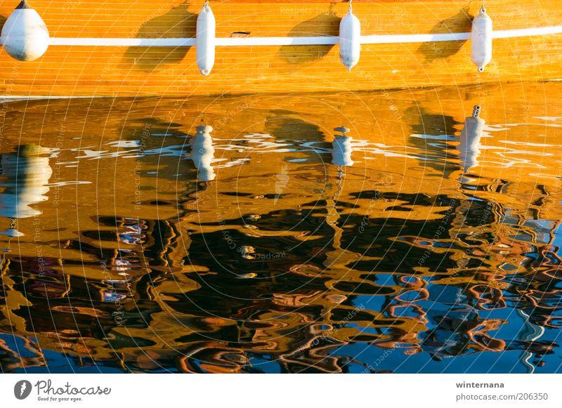 Gespiegelt Wasser Sommer Schönes Wetter Küste Nordsee Bootsfahrt Segel Spiegel frei einzigartig nachhaltig nass Sauberkeit blau braun mehrfarbig gelb weiß Glück