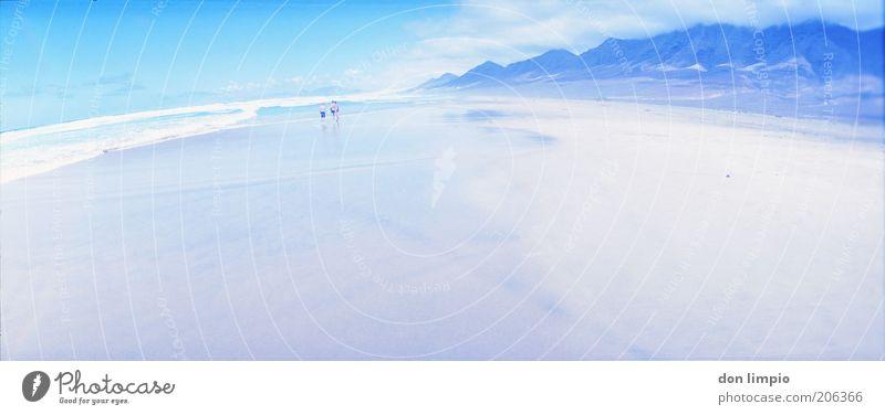 Isla Tranquila Himmel blau Sommer Ferien & Urlaub & Reisen Meer ruhig Ferne Freiheit Berge u. Gebirge Landschaft Horizont Ausflug Nebel Insel Tourismus