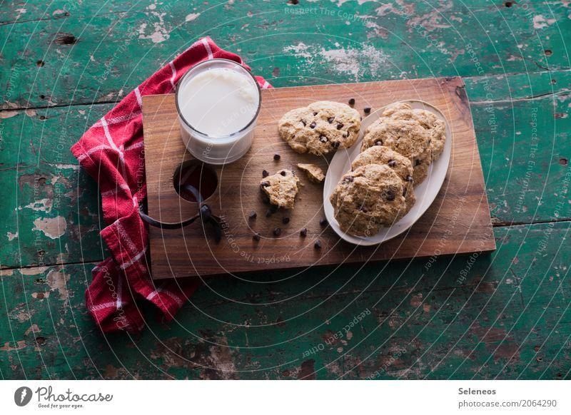 vegan Cookies Lebensmittel Teigwaren Backwaren Süßwaren Schokolade Keks Ernährung Essen Getränk Kakao Diät genießen süß backen Farbfoto Innenaufnahme