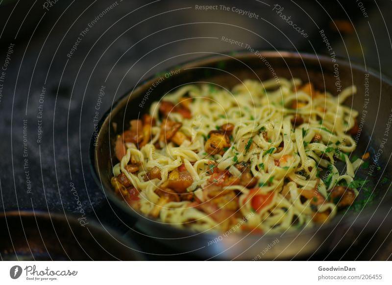 Alltag II Ernährung Wärme Lebensmittel Kochen & Garen & Backen authentisch einfach heiß natürlich Gemüse lecker Appetit & Hunger Pilz Nudeln Kräuter & Gewürze