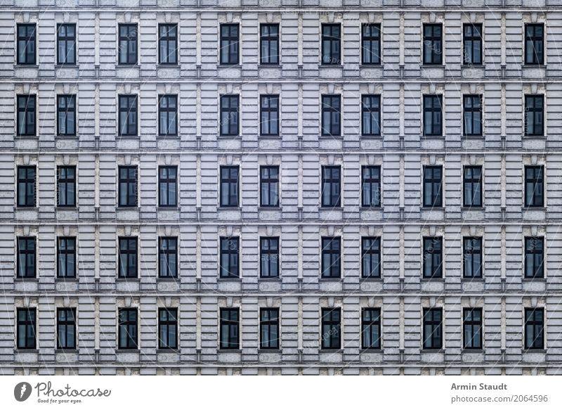 Fassadenmuster alt Stadt Haus Fenster Architektur Wand Hintergrundbild Berlin Gebäude Mauer Design Dekoration & Verzierung Hochhaus Bauwerk viele