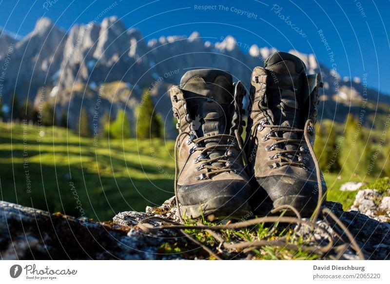 Schuhe an und raus!!! Ferien & Urlaub & Reisen Tourismus Ausflug Abenteuer Ferne Freiheit Expedition Sommerurlaub Berge u. Gebirge wandern Landschaft