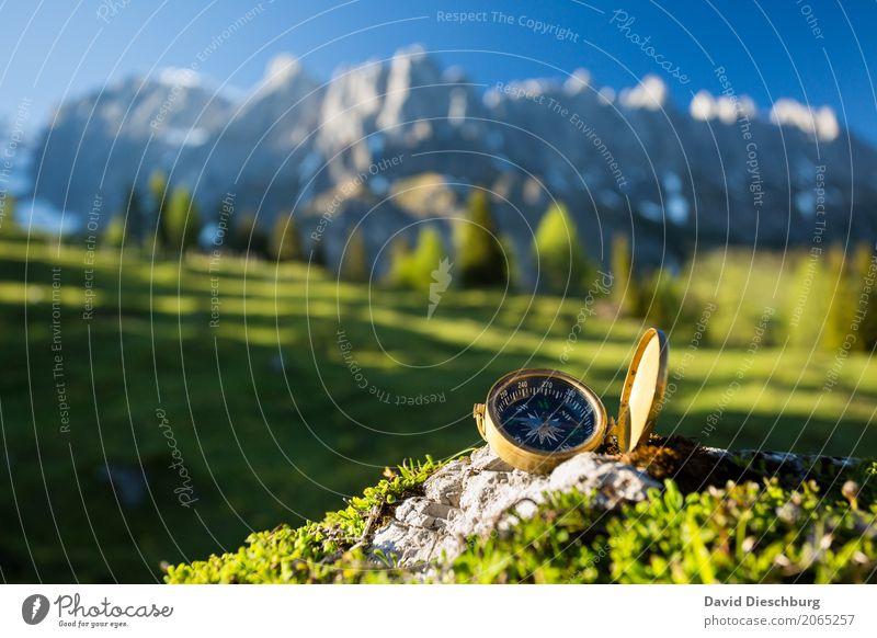 Antikes Navigationsgerät Natur Ferien & Urlaub & Reisen Pflanze Sommer Landschaft Erholung Berge u. Gebirge Frühling Tourismus Felsen träumen Ausflug wandern
