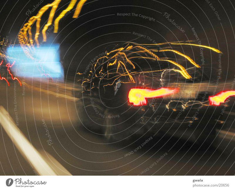 der tunnel Bewegung PKW Verkehr Geschwindigkeit Autobahn Tunnel