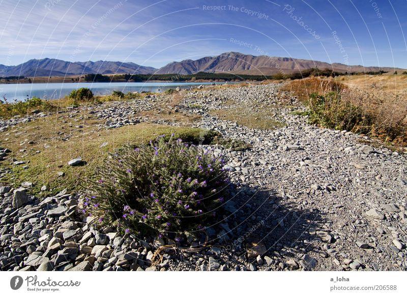middle earth II Natur Wasser schön Himmel Sonne grün blau Ferien & Urlaub & Reisen Ferne Erholung Herbst Gras Berge u. Gebirge See Wärme Landschaft