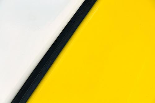 Simplicity Lifestyle Stil Design Linie ästhetisch einfach trendy positiv gelb weiß Farbe Ordnung Grafik u. Illustration minimalistisch Hintergrundbild Farbfoto