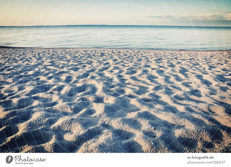 Angeschwemmter Sternenstaub Natur Wasser Himmel Meer blau Sommer Strand Ferien & Urlaub & Reisen Ferne Freiheit Sand Landschaft Wellen Küste Horizont natürlich