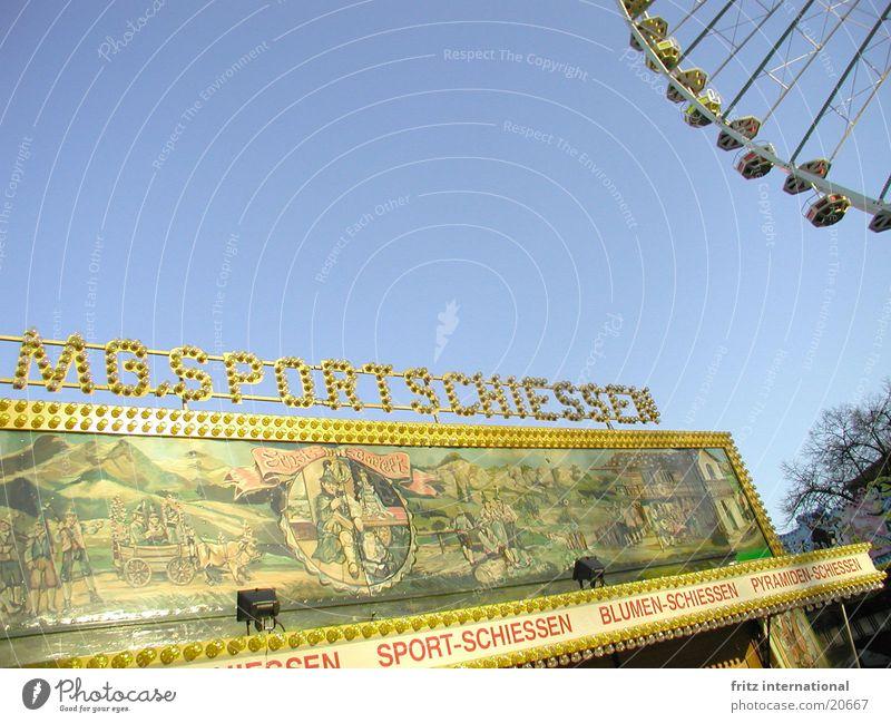 Sportschiessen schießen Jahrmarkt Riesenrad Sendgericht Freizeit & Hobby Himmel