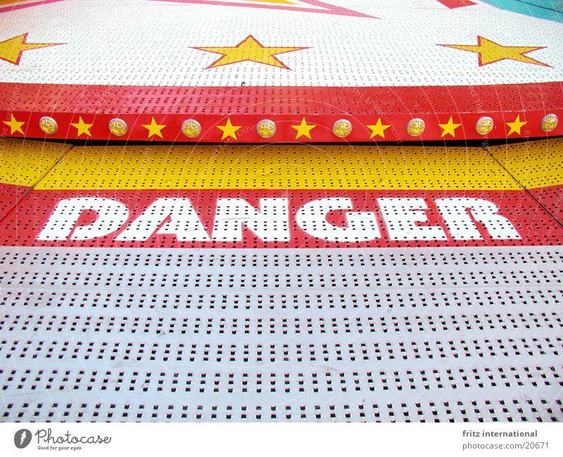 danger Stern (Symbol) gefährlich bedrohlich Freizeit & Hobby Jahrmarkt Symmetrie Münster Sendgericht