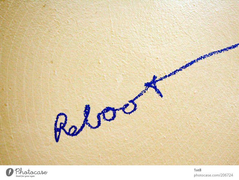solves your problems Wand Schriftzeichen neu Kommunizieren einfach Informationstechnologie Wort Handschrift Neuanfang taggen booten handschriftlich