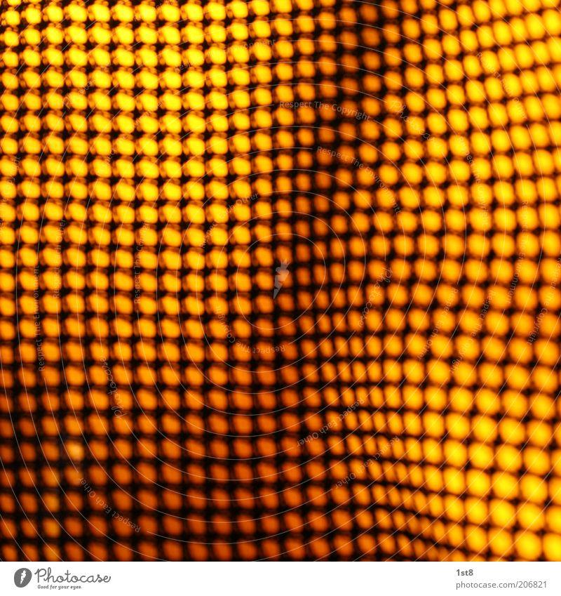 energie gelb Kunst gold Energiewirtschaft Design Zukunft ästhetisch Netzwerk Technik & Technologie Stoff Punkt Wissenschaften Sonnenenergie Material Gitter