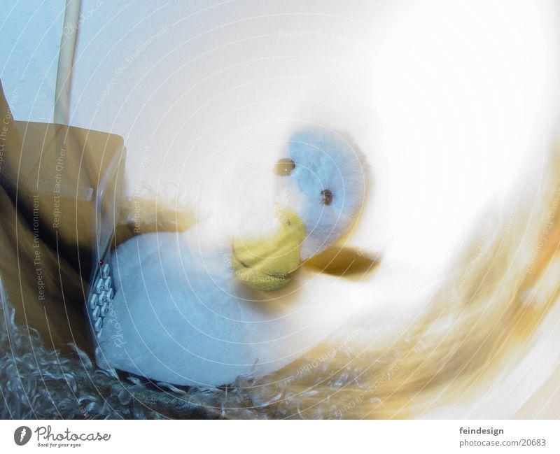 Ghost Duck Speaking Stimmung obskur Ente Gans Stofftiere