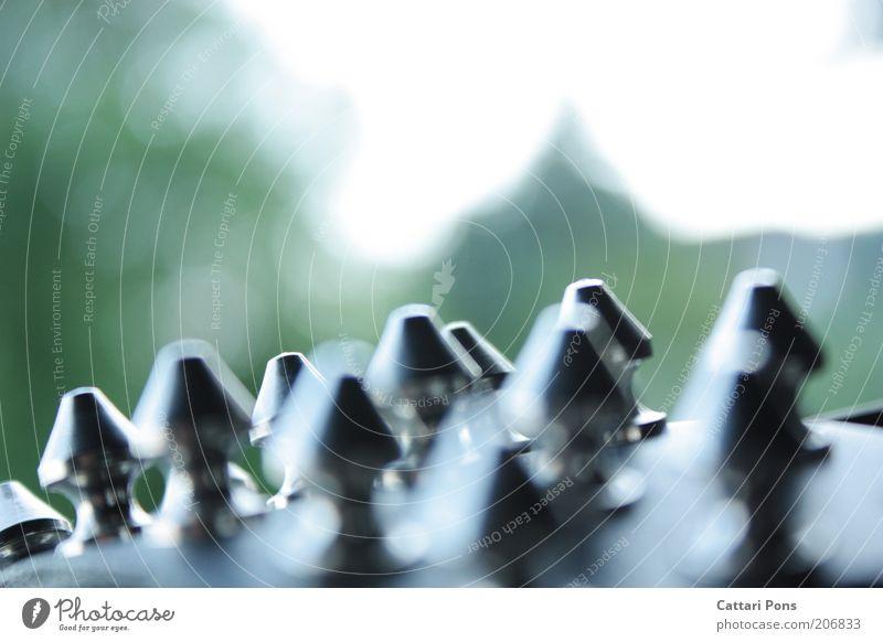 Nietenwald schwarz Stil Mode Metallwaren Spitze Dinge Schmuck silber stachelig Gürtel Accessoire Konzepte & Themen Armband Nieten Makroaufnahme