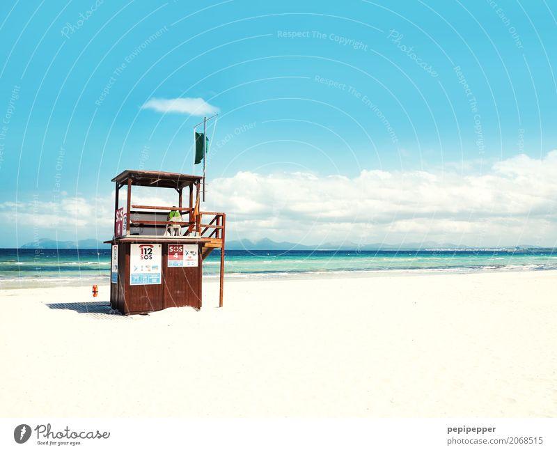 Lifeguard Mallorca Freizeit & Hobby Ferien & Urlaub & Reisen Tourismus Ausflug Sommer Sommerurlaub Strand Meer Insel Sport Fitness Sport-Training