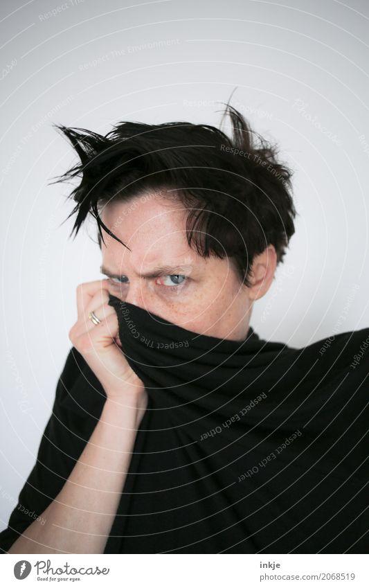 Thementag Furztag | wachsen und gedeihen Frau Mensch Gesicht Erwachsene Leben Lifestyle Gefühle Stil Haare & Frisuren Freizeit & Hobby Wut Konflikt & Streit