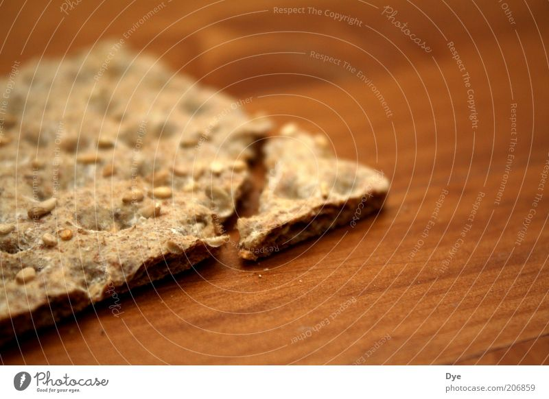 knäckebröd Ernährung braun Gesundheit Lebensmittel Ecke Teile u. Stücke lecker gebrochen Mahlzeit Diät Snack knackig Vegetarische Ernährung Gesunde Ernährung