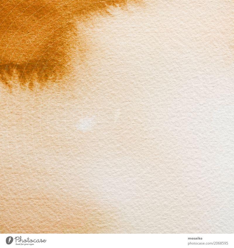 sandfarbene Wasserfarben Kind Natur Freude Hintergrundbild Stil Kunst Schule braun Sand Design Freizeit & Hobby Zufriedenheit elegant retro ästhetisch Papier