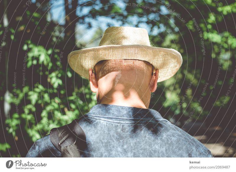 AST10   Den Schatten im Nacken Lifestyle Stil harmonisch Wohlgefühl Zufriedenheit Erholung ruhig Freizeit & Hobby Ferien & Urlaub & Reisen Ausflug Abenteuer