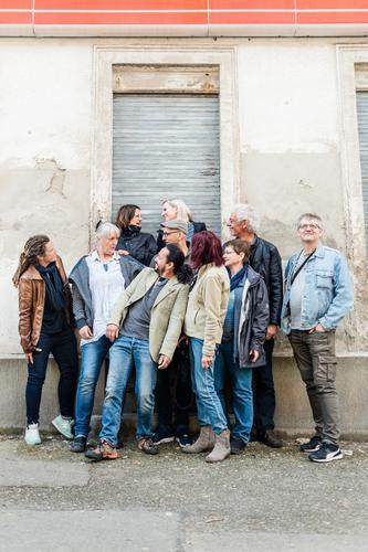 AST10 | Gruppenfoto Lifestyle Freizeit & Hobby Ferien & Urlaub & Reisen Ausflug Städtereise Mensch maskulin feminin Frau Erwachsene Mann Leben Menschengruppe