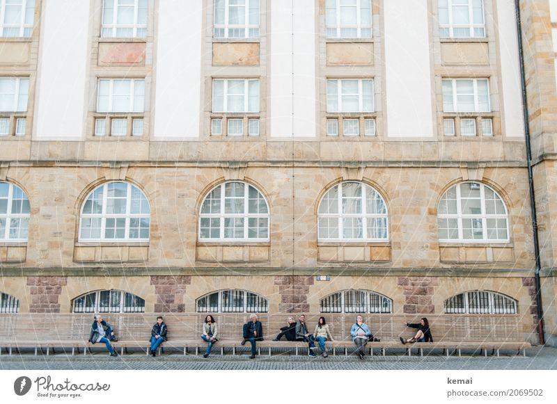 AST 10 | Die Lümmel von der ersten Bank Mensch Ferien & Urlaub & Reisen Stadt Erholung Fenster Erwachsene Leben Lifestyle feminin Gebäude Tourismus