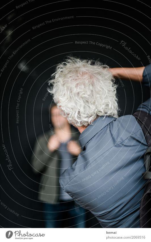 AST10 | Fotografenrückansicht Mensch Mann Erwachsene Leben Lifestyle Haare & Frisuren Kopf grau Arbeit & Erwerbstätigkeit Freizeit & Hobby maskulin stehen