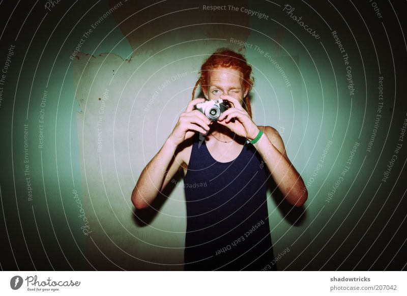 Photoshoot Lifestyle Stil Design exotisch maskulin Junger Mann Jugendliche Leben 1 Mensch 18-30 Jahre Erwachsene Jugendkultur Rastalocken trendy Kreativität