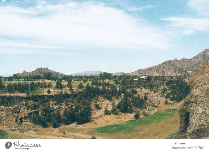 Bonanza Berge u. Gebirge Fluss Idaho