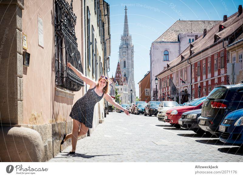 rumhängen im Urlaub 2 Mensch Frau Ferien & Urlaub & Reisen Jugendliche Junge Frau Sommer Freude 18-30 Jahre Erwachsene Leben feminin Glück Tourismus Ausflug