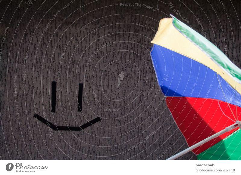 SCHATTEN FIND ICK JUT! | NACHTALBEN Sommer Freude Ferien & Urlaub & Reisen Wand Stil Mauer Wärme Design Lifestyle Tourismus Freizeit & Hobby heiß Sonnenschirm