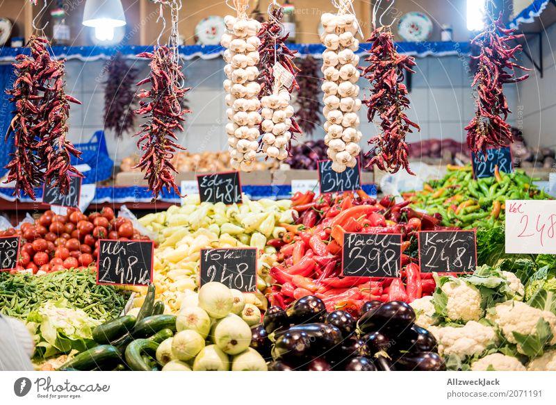 Im Angebot Lebensmittel Gemüse Kräuter & Gewürze Ernährung Vegetarische Ernährung Schriftzeichen Ziffern & Zahlen Schilder & Markierungen frisch Gesundheit