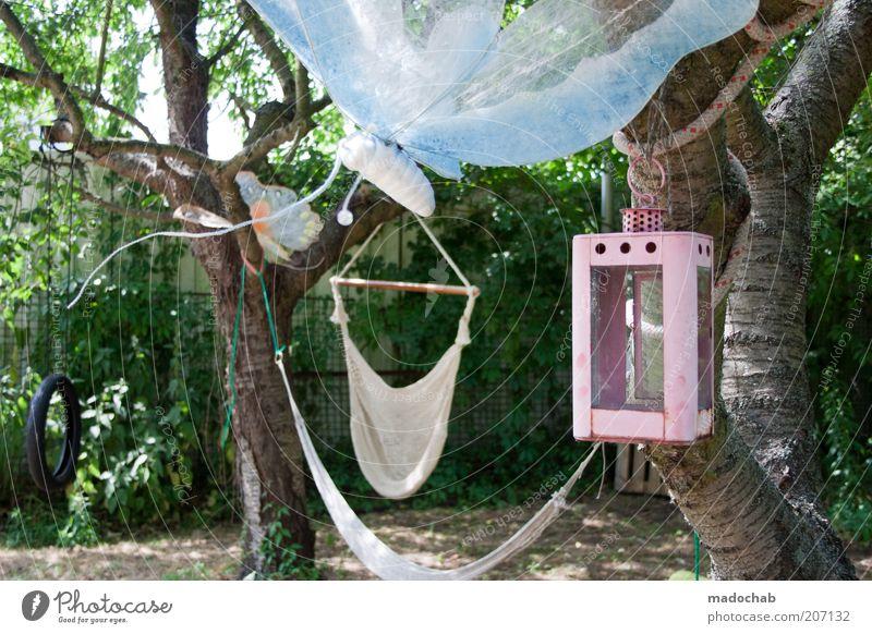 Hippiesque Natur Baum Sommer ruhig Erholung Freiheit Garten Stil Feste & Feiern Zufriedenheit Freizeit & Hobby elegant Design ästhetisch Häusliches Leben