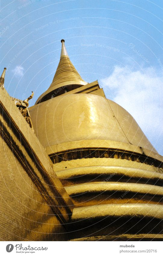 Golden Temple gold Erfolg Thailand Tempel Asien Buddhismus Bangkok