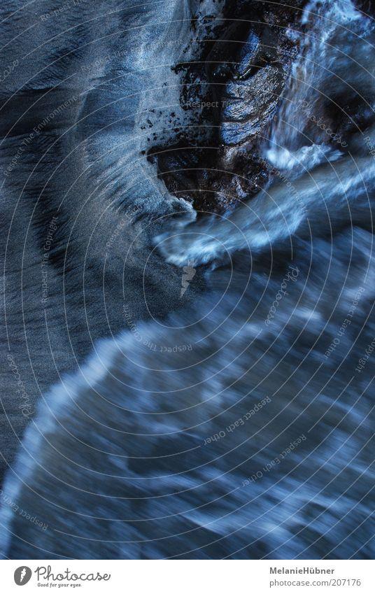 Wasser II Natur Wellen Umwelt abstrakt Urelemente Wasserwirbel Meerwasser