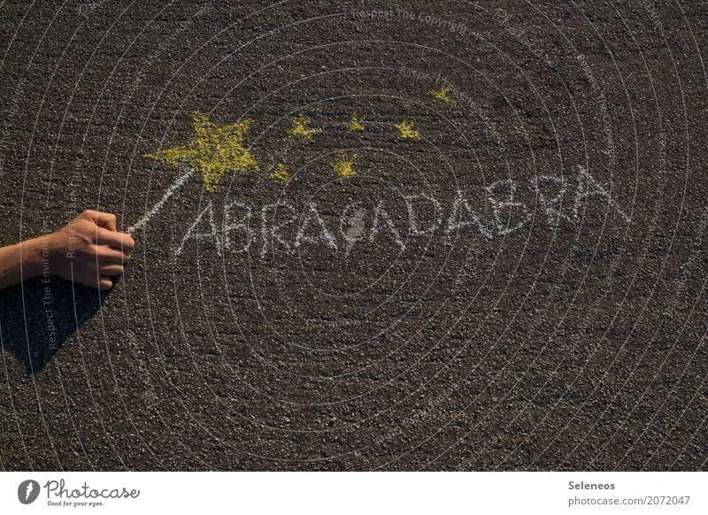 hex hex Arme Hand Zeichen Schriftzeichen Stern (Symbol) Hoffnung Erwartung Wunsch wirklich Realitätsflucht falsch Zauberei u. Magie Zauberkunde Zauberstab