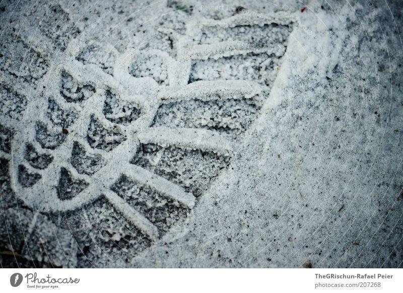 """""""Ökologischer"""" Fussabdruck Umwelt Sand Vergangenheit Vergänglichkeit Farbfoto Detailaufnahme Abend Fußspur Abdruck Spuren vererben Symbole & Metaphern"""