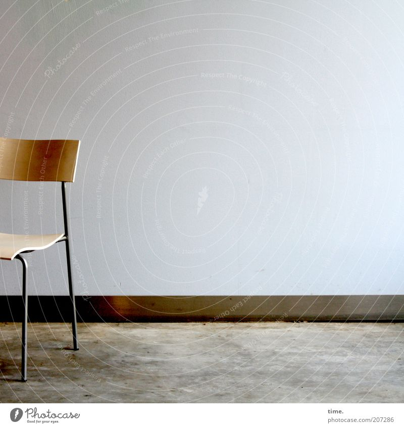 [H10.1] - time for a rest kalt Wand Holz Mauer Metall Design frei Bodenbelag einzigartig Stuhl Metallwaren außergewöhnlich dünn Möbel Stahl Sitzgelegenheit