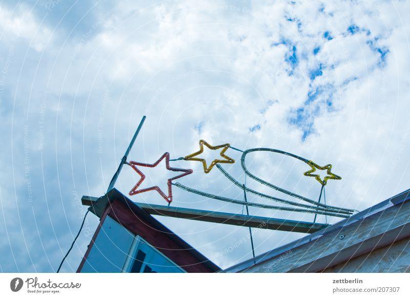 Urknall Himmel Stern Stern (Symbol) Ecke Werbung Illumination Buden u. Stände Sternenhimmel Leuchtreklame Eyecatcher Komet Sternbild Lichtschlauch