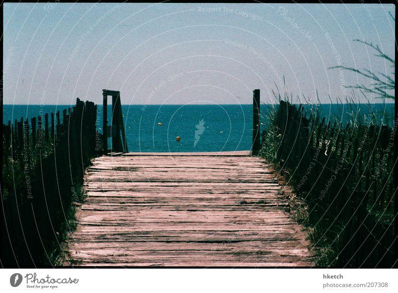 The Last Summer of Kodachrome: Enter here Wasser Meer Sommer Ferien & Urlaub & Reisen Glück Wege & Pfade Wärme Küste Romantik Freizeit & Hobby Sehnsucht Steg